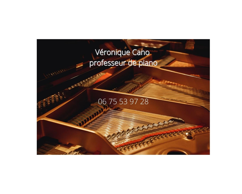 Partenaire Cours de piano Véronique CANO